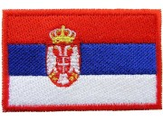 "Serbia Flag ""Without Text"""