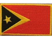 """Timor-Leste Flags """"Without Text"""""""