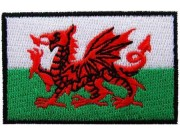 """Wales Flag """"Without Text"""""""