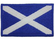 "Scotland National Flags ""Without Text"" Patch"