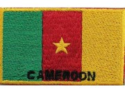 "Cameroon Flags ""With Text"""