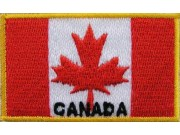 """Canada Flags """"With Text"""""""