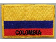 "Colombia Flags ""With Text"""