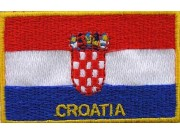 "Croatia Flags ""With Text"""