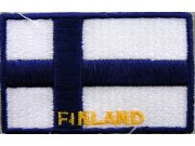 """Finland Flags """"With Text"""""""