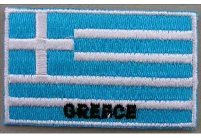 "Greece Flags ""With Text"""