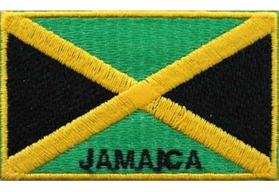 """Jamaica Flags """"With Text"""""""