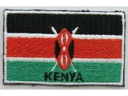 """Kenya Flags """"With Text"""""""