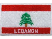 """Lebanon Flags """"With Text"""""""