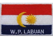 "W.P.Labuan Nation Flags ""With Text"""