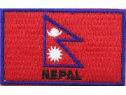 """Nepal Flags """"With Text"""""""