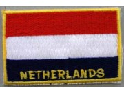 """The Netherlands Flags """"With Text"""""""