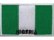 "Nigeria Flags ""With Text"""