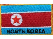 "Korea, North Flags ""With Text"""