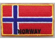 """Norway Flags """"With Text"""""""