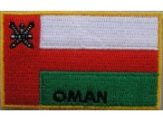 """Oman Flags """"With Text"""""""