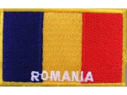"Romania Flags ""With Text"""