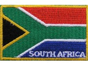 """South Africa  Flags """"With Text"""""""