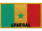 "Senegal Flags ""With Text"""