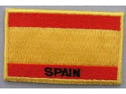 """Spain Flags """"With Text"""""""