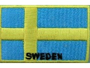 """Sweden Flags """"With Text"""""""