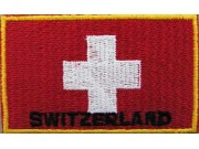 """Switzerland Flags """"With Text"""""""