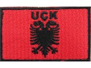 "UCK Flags ""With Text"" Flag Embroidered Patch"