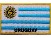 """Uruguay Flags """"With Text"""""""