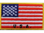 """United States USA Flags """"With Text"""""""