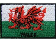 "Wales Flags ""With Text"""