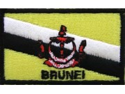 """Brunei Flags """"With Text"""""""