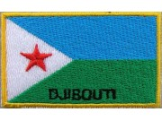 """Djibouti Flags """"With Text"""""""