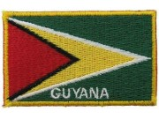 "Guyana Flags ""With Text"""