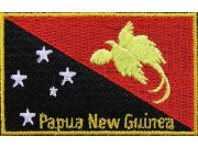 "Papua New Guinea Flags ""With Text"""