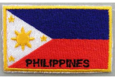 "Philippines Flags ""With Text"""