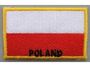"""Poland Flags """"With Text"""""""