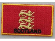 "Scotland England 3 Lions Flags ""With Text"""