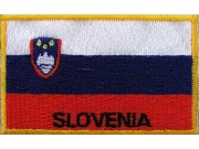 "Slovenia Flags ""With Text"""