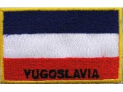 """Yugoslavia Nation Flags """"With Text"""""""