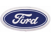 GIANT FORD LOGO CAR AUTO EMBROIDERED PATCH (K1)