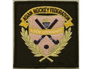 ASIAN HOCKEY FEDERATION EMBROIDERED PATCH