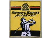 BENSON & HEDGES GOLF EMBROIDERED PATCH