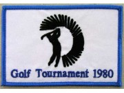 1980 GOLF TOURNAMENT EMBROIDERED PATCH