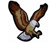 GIANT UP WING FLYING EAGLE EMBROIDERED PATCH (XL)