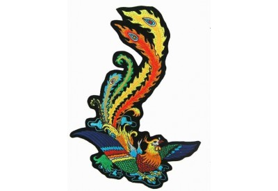 GIANT PHOENIX TATTOO PATCH RIGHT (EXXL-17R)