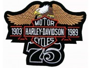 GIANT HARLEY DAVIDSON BIKER EAGLE PATCH (P02)