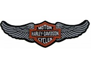 GIANT HARLEY DAVIDSON BIKER WINGS PATCH (P11)