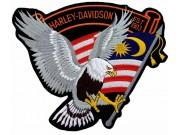 GIANT HARLEY DAVIDSON BIKER EAGLE PATCH (XL14)