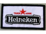 HEINEKEN BEER IRON ON EMBROIDERED PATCH #03