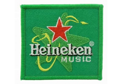 HEINEKEN BEER IRON ON EMBROIDERED PATCH #06